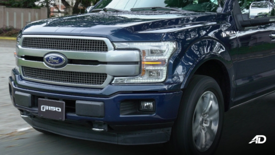 2020 Ford F-150 Platinum Philippines Front Clip