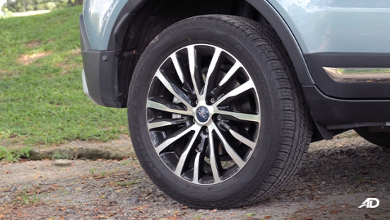 2020 Ford Territory exterior wheels Philippines
