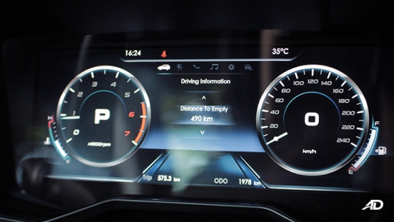 2020 Ford Territory interior gauge cluster Philippines