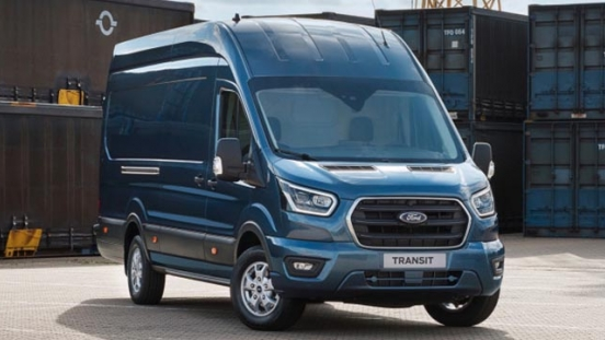 2020 Ford Transit exterior press photo