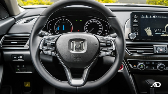 2020 honda accord interior steering wheel