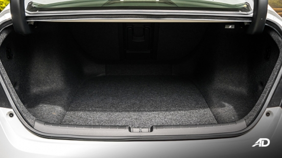 2020 honda accord interior trunk