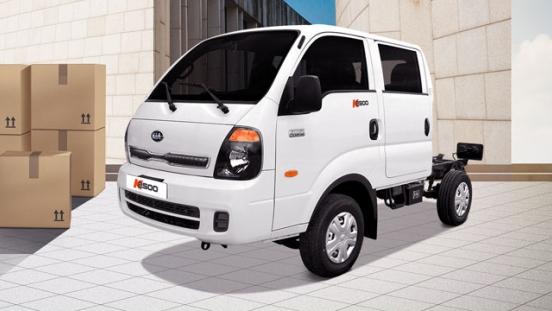 2020 Kia K2500 dual cab