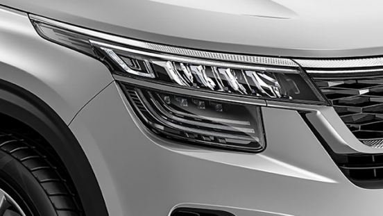 2020 Kia Seltos exterior headlights