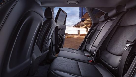 2020 Kia Seltos interior backseat