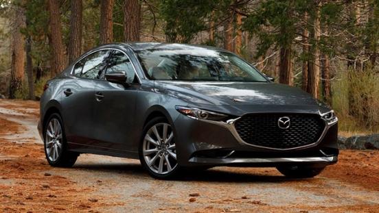 2020 Mazda3 front