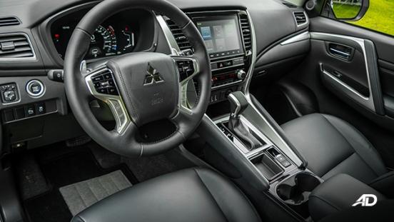 2020 montero sport interior cabin