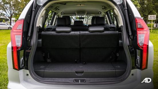 2020 montero sport interior trunk