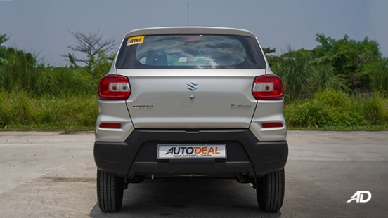 2020 Suzuki S-Presso Philippines Rear hatch