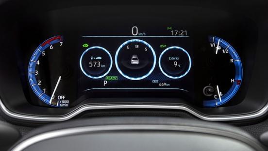 2020 Toyota Corolla Altis Hybrid Interior Philippines