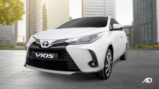 2020 Toyota Vios exterior front Philippines