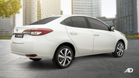 2020 Toyota Vios exterior quarter rear Philippines