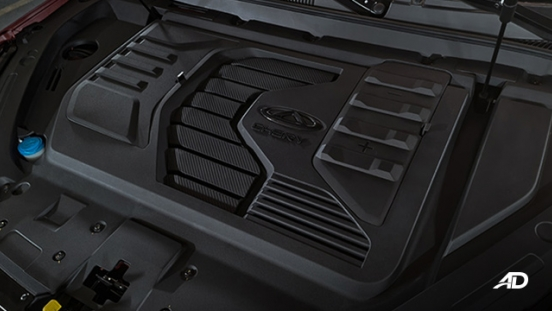 2021 Chery Tiggo 7 Pro exterior engines