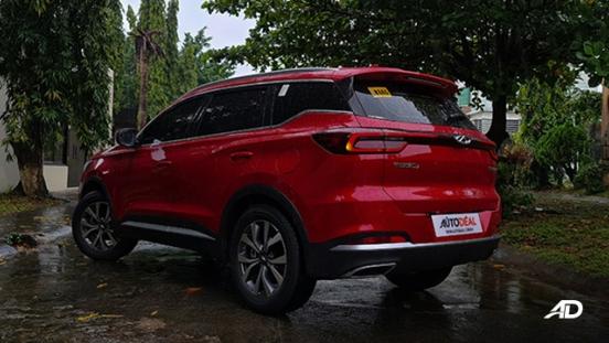 2021 Chery Tiggo 7 Pro exterior quarter rear Philippines