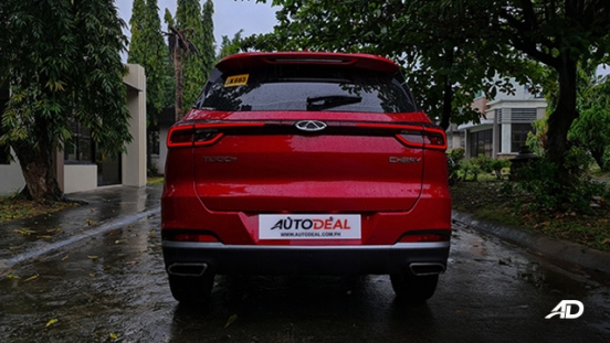 2021 Chery Tiggo 7 Pro exterior rear Philippines