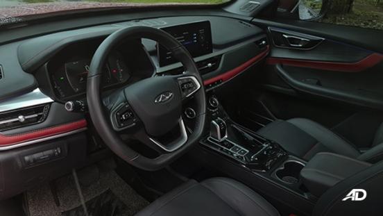 2021 Chery Tiggo 7 Pro interior dashboard Philippines
