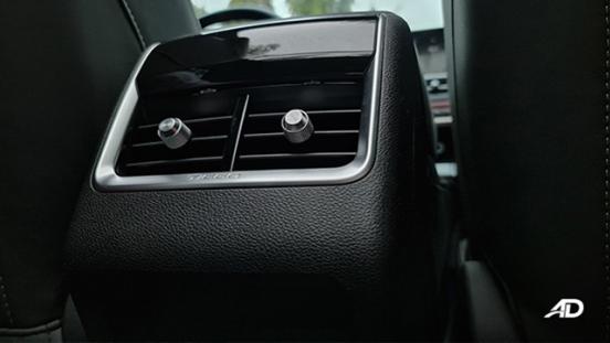 2021 Chery Tiggo 7 Pro interior rear air vents Philippines