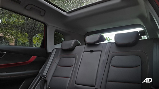 2021 Chery Tiggo 7 Pro interior rear seats Philippines