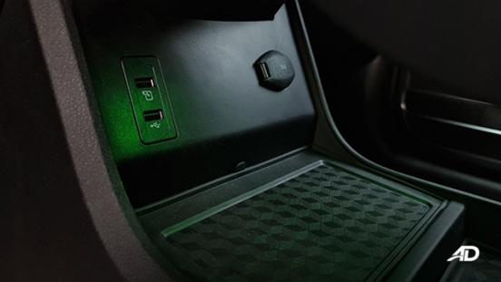 2021 Chery Tiggo 7 Pro interior USB ports Philippines