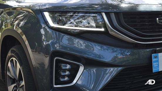 2021 Geely Okavango exterior headlights Philippines