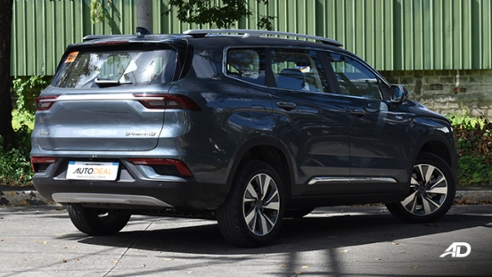 2021 Geely Okavango exterior quarter rear Philippines