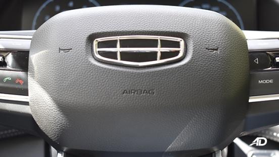 2021 Geely Okavango interior driver's airbag Philippines