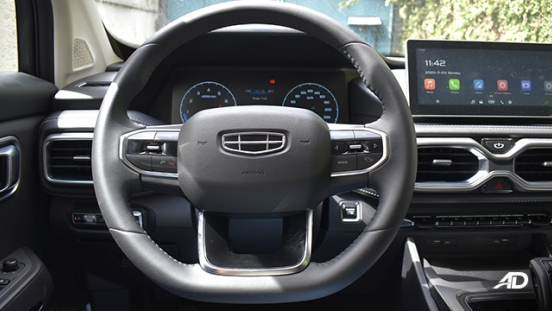 2021 Geely Okavango interior steering wheel Philippines
