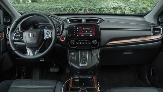 2021 Honda CR-V dashboard