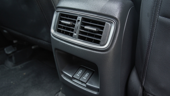 2021 Honda CR-V rear air vents