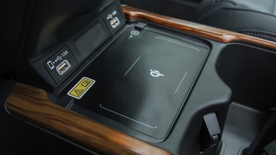 2021 Honda CR-V wireless charging pad