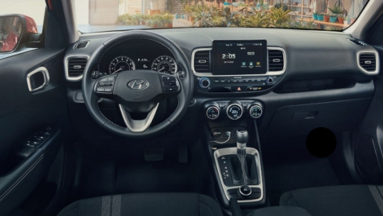 2021 Hyundai Venue Philippines interior dashboard