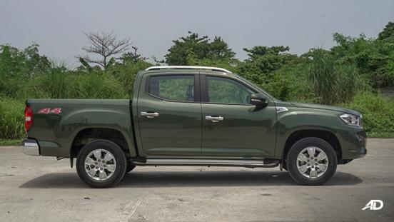 2021 Maxus T60 exterior side Philippines