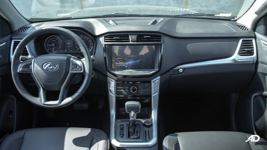 2021 Maxus T60 interior dashboard Philippines