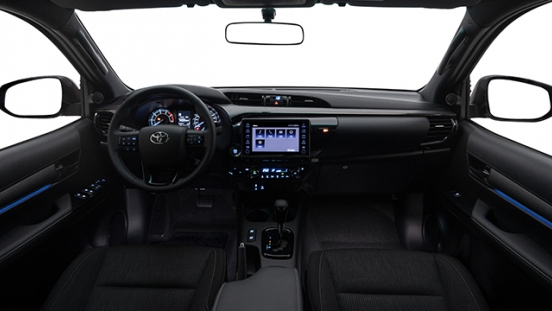 2021 Toyota Hilux interior dashboard Philippines