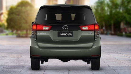 2021 Toyota Innova exterior rear Philippines