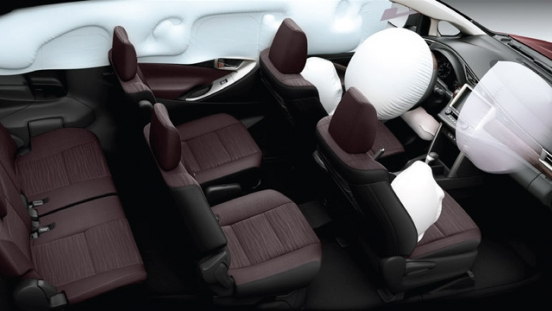 2021 Toyota Innova interior airbags Philippines