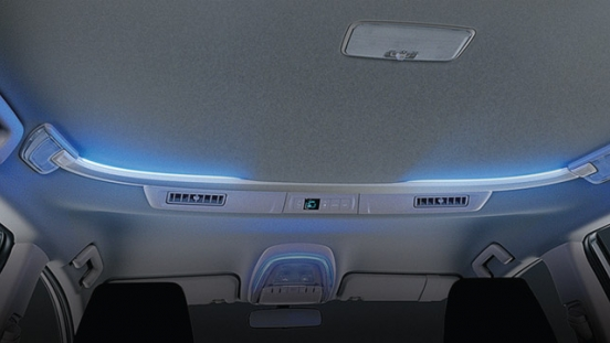 2021 Toyota Innova interior ambient lighting system Philippines