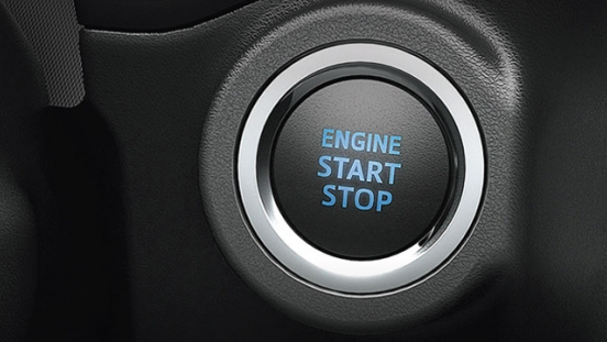 2021 Toyota Innova interior push-start button Philippines