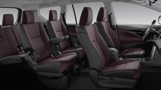2021 Toyota Innova interior seating layout Philippines