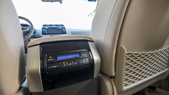 2021 Toyota Prado exterior rear climate control Philippines
