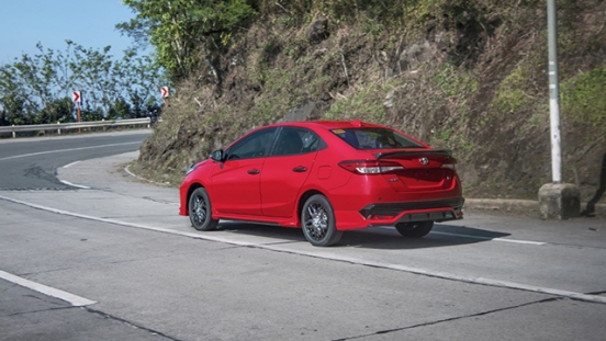 2021 Toyota Vios exterior quarter rear Philippines