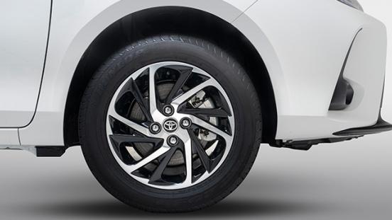 2021 Toyota Yaris Philippines 16-inch wheels
