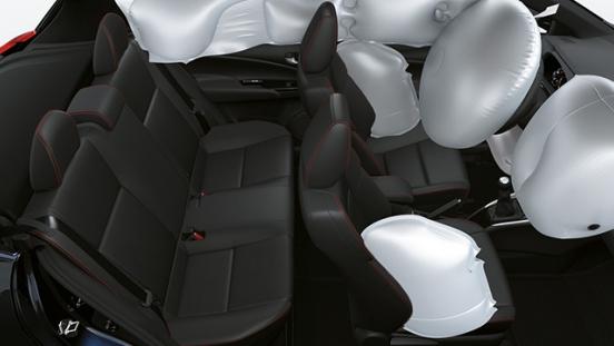 2021 Toyota Yaris Philippines 7 airbags