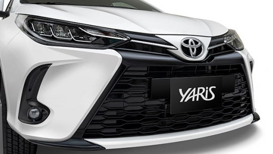 2021 Toyota Yaris Philippines Front clip