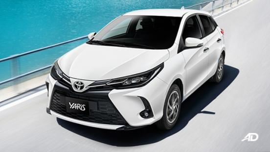 2021 Toyota Yaris Philippines White