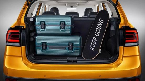 2021 Volkswagen T-cross trunk space philippines