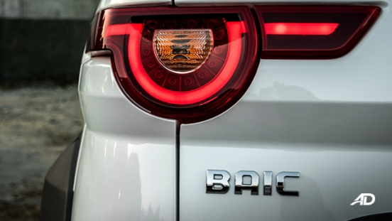 BAIC BJ20 exterior taillight