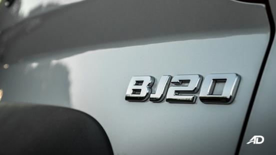 BAIC BJ20 exterior white
