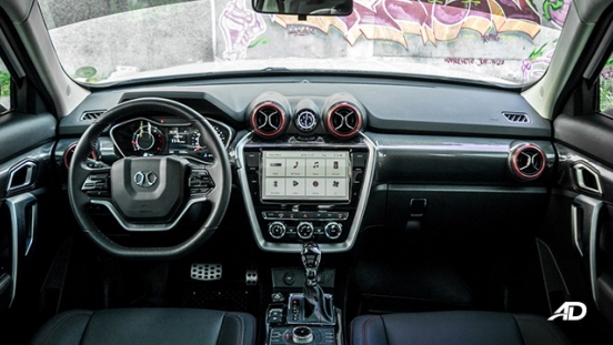 BAIC BJ20 interior