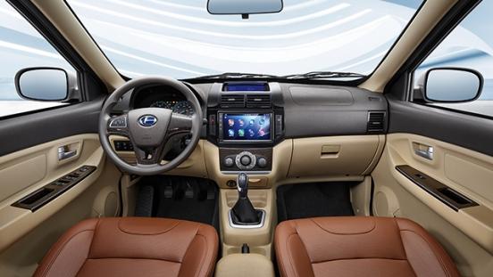 BAIC M50S 2018 interior